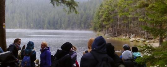 Zpráva ze šumavských jezer ze dne 5.10.2016