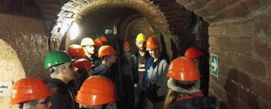 Návštěva Plzeňského historického podzemí