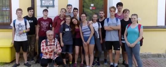 Turistický pochod po hřebenech Šumavy a 5. ročník Soutěže o putovní pohár Ing. Naděždy Mauleové, MBA